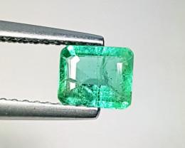0.60ct Fantastic Gem Marvelous Octagon Cut Natural Emerald