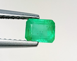 0.54 ct AAA Grade Gem Fantastic Octagon Cut Natural Emerald