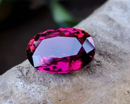 3.50 Ct Natural Top Color Rubellite Tourmaline Oval Cut Gemstone