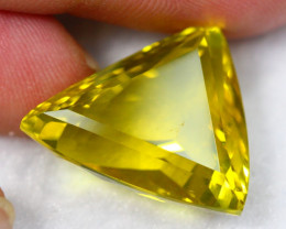 Lot 7 ~ 23.34Ct Natural VS Clarity Yellow Color Lemon Quartz