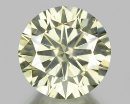 0.52 CT DIAMOND WITH SPARKLING LUSTER GEMSTONE WD1