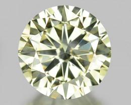 0.52 CT DIAMOND WITH SPARKLING LUSTER GEMSTONE WD2