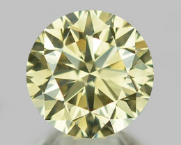 0.60 CT DIAMOND WITH SPARKLING LUSTER GEMSTONE WD3