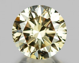 0.50 CT DIAMOND WITH SPARKLING LUSTER GEMSTONE WD6