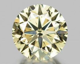 0.45 CT DIAMOND WITH SPARKLING LUSTER GEMSTONE WD7