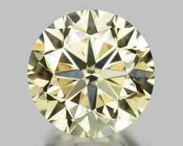 0.45 CT DIAMOND WITH SPARKLING LUSTER GEMSTONE WD7
