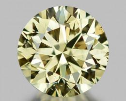 0.51 CT DIAMOND WITH SPARKLING LUSTER GEMSTONE WD10