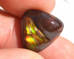 6.80 Carat Fire Agate -- Brightly Colored Gem!