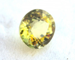 2.26 Carat Tourmaline -- Nice Greenish Yellow Stone