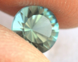 1.20 Carat Tourmaline -- Beautiful Seafoam Blue Stone!