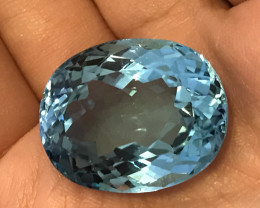 Certified and Appraised Blue Topaz