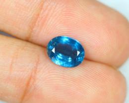 2.40ct Greenish Blue Kyanite Oval Cut Lot GW2692