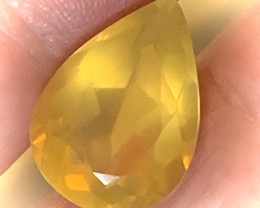 8.19ct MEXICAN OPAL - LEMON GOLD  GLOWING STONE NR