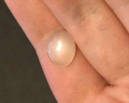 Glowing moonstone Cabochon