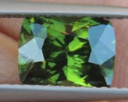 2.25cts, Green Zircon, Eye Clean,