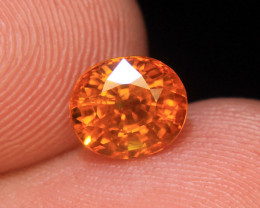 Wow Very Beautiful Cut Celon Orange Yellow Sapphire For Ring Collector's Ge