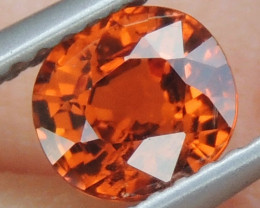 1.29cts,  Mandarin Spessartite,  Untreated