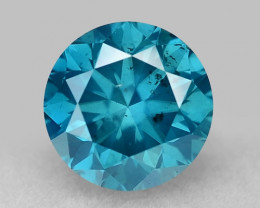 0.44 Ct Blue Diamond Top Class Gemstone Db12