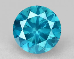 0.37 Ct Blue Diamond Top Class Gemstone Db13