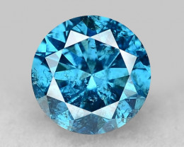 0.31 Ct Blue Diamond Top Class Gemstone  DB15