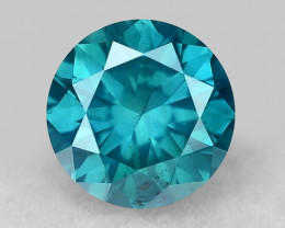 0.43 Ct Blue Diamond Top Class Gemstone DB 16