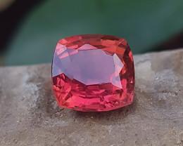 3.70 Ct Natural Rubellite Transparent Tourmaline Ring Size Gemstone