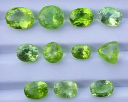 47 Ct Natural Peridot Gemstones parcel