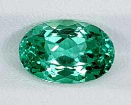 4.50Crt Green Spodumene  Best Grade Gemstones JI120