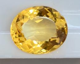 5.55 cts Citrine Gemstone - No Reserve Auction