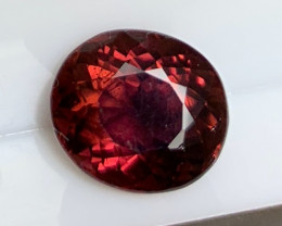 3.95  cts Burgundy Tourmaline - No Reserve Auction