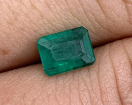 1.35 cts Colombian Emerald - No Reserve Auction