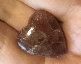 Beautiful Sunstone Heart