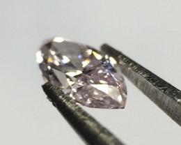 GIL Certified Natural Pink Diamond - 0.16 ct