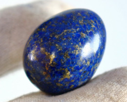 109.50 CT Natural lapis  lazuli Carved Stone Egg Special Shape