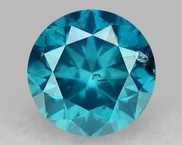 0.35 Ct Blue Diamond Top Class Gemstone DB21