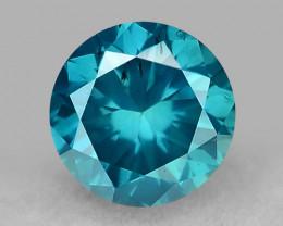 0.30 Ct Blue Diamond Top Class Gemstone DB22