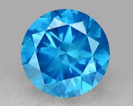 0.19 Ct Blue Diamond Top Class Gemstone DB32