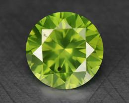 0.40 Ct Green Diamond Sparkling Luster Gemstone DG1