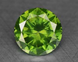 0.29 Ct Green Diamond Sparkling Luster Gemstone DG2