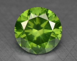 0.33 Ct Green Diamond Sparkling Luster Gemstone DG3