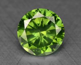 0.23 Ct Green Diamond Sparkling Luster Gemstone DG4