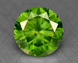 0.30 Ct Green Diamond Sparkling Luster Gemstone DG7