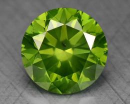 0.41 Ct Green Diamond Sparkling Luster Gemstone DG8