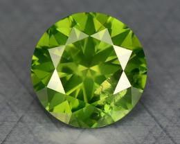 0.36 Ct Green Diamond Sparkling Luster Gemstone DG9