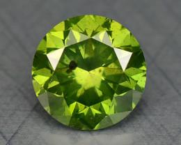0.23 Ct Green Diamond Sparkling Luster Gemstone DG12