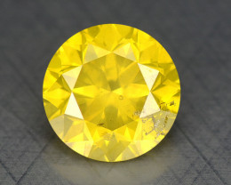 0.41 Ct Diamond Yellow Color Top Class Luster DY1