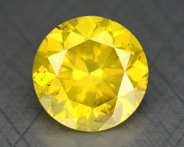 0.32 Ct Diamond Yellow Color Top Class Luster DY3