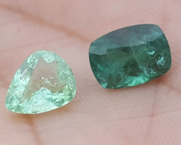 NR 4.85 carats  Blue colour Tourmaline Gemstone From Afghanistan