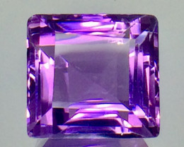 12.52 Crt Natural Amethyst Beautifulest Faceted Gemstone.( AG 77)