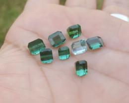 NR 9.75 carats Blue color Tourmaline Gemstone parcel